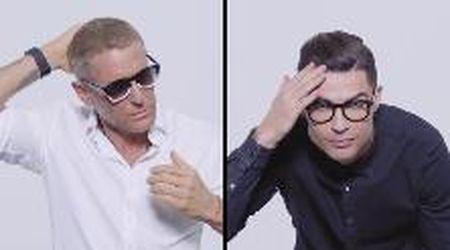 Lapo Elkann insieme a Cristiano Ronaldo: nascono gli occhiali CR7