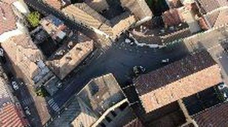Coronavirus, Codogno sembra una città fantasma: le immagini dal drone