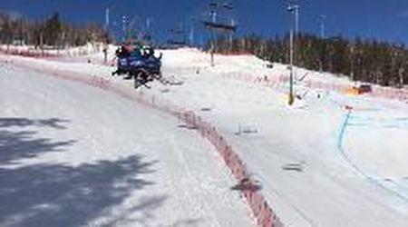 Russia, incubo in seggiovia: sciatori restano impigliati in un cavo