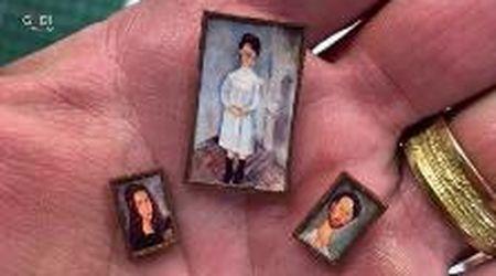 La mostra su Modigliani è in miniatura: c'è anche il celebre dipinto 'Fillette en blue'