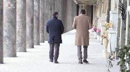 Modena. Il sindaco e il vescovo in raccoglimento a San Cataldo per le vittime del virus