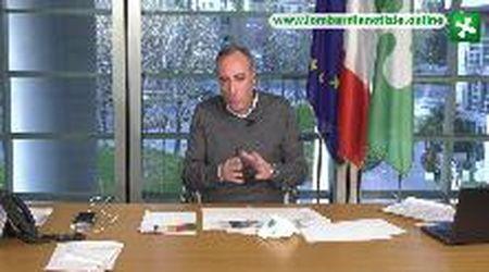"""Coronavirus, Gallera: """"In Lombardia diminuiscono contagi e accessi al pronto soccorso"""""""
