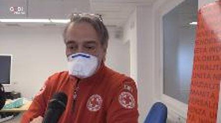 """Modena, il presidente nazionale della Croce Rossa: """"Siamo pronti al secondo fronte"""""""
