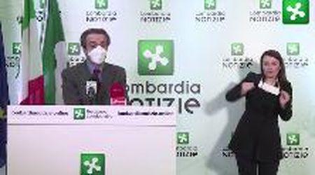 """Coronavirus, Fontana: """"In un mese usate 10 milioni di mascherine ma ne servivano il triplo"""""""