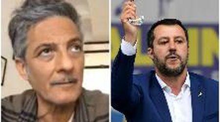 """Fiorello contro Salvini sulle chiese aperte a Pasqua: """"Puoi pregare anche in bagno se sei fedele"""""""