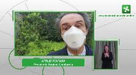 """Coronavirus, in Lombardia mascherine gratis per i cittadini. Foroni: """"Siate responsabili, non è un regalo"""""""
