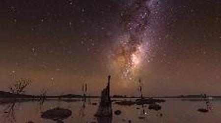 La Via Lattea si muove nel cielo: il video è spettacolare