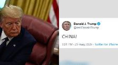 "Scrive ""CHINA!"" su Twitter, il post di Trump ha mille interpretazioni divertenti"