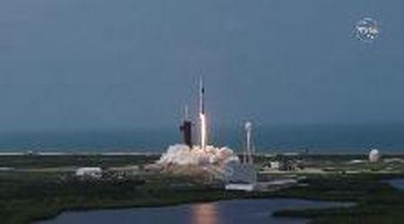 Nasa-SpaceX, il lancio della Crew Dragon: il momento del decollo da Cape Canaveral