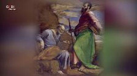A casa con gli Este/ I santi Pietro e Paolo di Jacopo Bassano