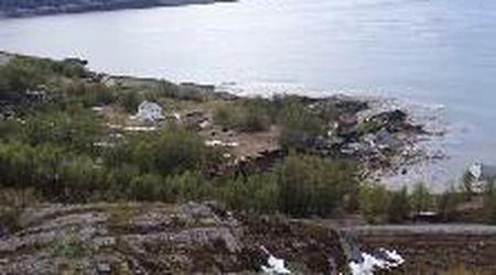Norvegia, la frana è impressionante: le case scivolano direttamente in mare