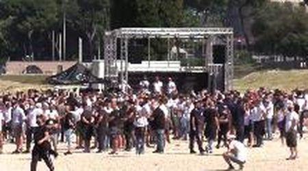 Roma, scontri alla manifestazione degli ultras: il videoracconto