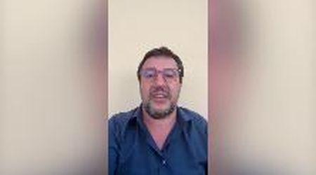 """Salvini e i contestatori di Mondragone: """"Puzzo? Ci credo, stai tu due ore in mezzo a quella gentaglia"""""""