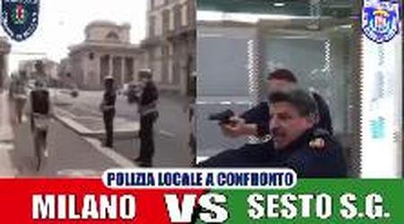 La farsa degli arresti rocamboleschi, così il sindaco di Sesto esalta i suoi vigili e prende in giro quelli di Milano
