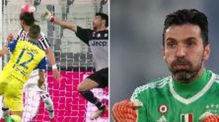 Le grandi parate di Gigi Buffon: l'omaggio della Juve al portiere dei record