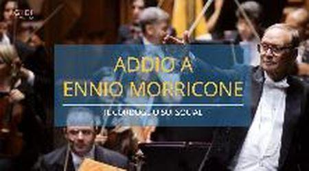 """Addio Ennio Morricone, il cordoglio sui social: """"Grazie maestro"""""""