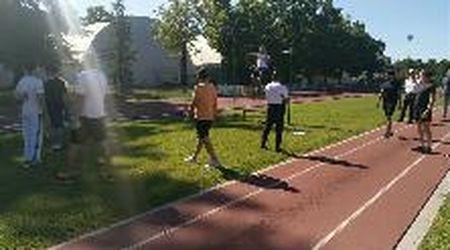 Salto in alto, trazioni e corsa: a Gorizia il concorso dei vigili