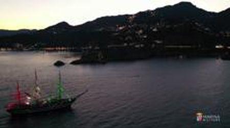 La Marina Militare omaggia Morricone: sulla nave Vespucci risuonano le sue note