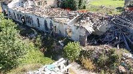 Il tornado in Riviera del Brenta cinque anni dopo: Villa Fini vista dal drone