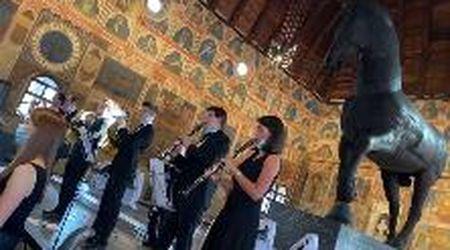 Grazie Padova: i Solisti Veneti suonano l'inno di Mameli con l'orchestra dei medici