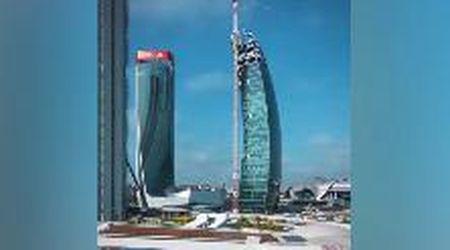 Undici anni in 30 secondi: in timelapse la costruzione dei tre grattacieli di CityLife a Milano