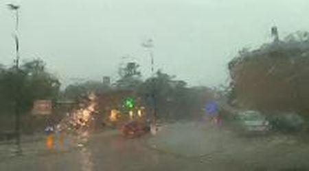 Fortunale su Ferrara: vento, pioggia e allagamenti