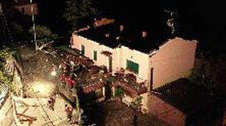 Maltempo nel Bresciano, case scoperchiate a Serle: le immagini dal drone