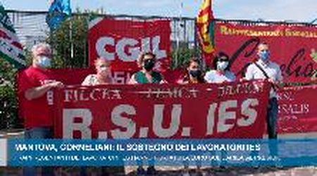Mantova. Corneliani, solidarietà dalla rsu della Ies