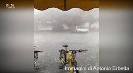 Maltempo a Modena, i video dei lettori della Gazzetta