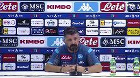 """Napoli, Gattuso: """"Non può esistere il calcio senza atmosfera"""""""