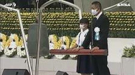 Hiroshima, 75 anni dalla bomba atomica: la cerimonia con cui il Giappone commemora le vittime
