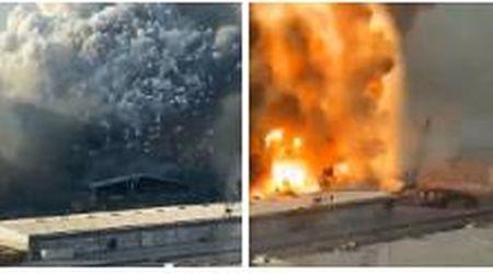 Nel video di una coppia la dinamica del disastro di Beirut: l'incendio, il primo scoppio e poi l'enorme esplosione