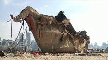 Beirut, ecco cosa resta del porto dopo l'esplosione