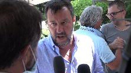 """Coronavirus, Salvini: """"Avviso di garanzia al governo? Ha i morti sulla coscienza"""""""