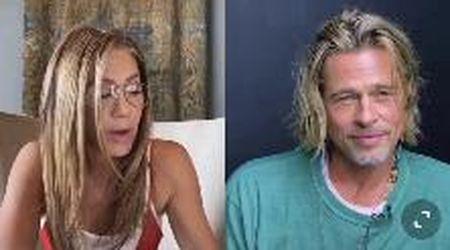 Jennifer Aniston e Brad Pitt, la reunion 15 anni dopo il divorzio: recitano una scena di flirt