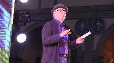 Regionali Toscana, il comico Paolo Hendel per la chiusura della campagna elettorale di Giani a Firenze