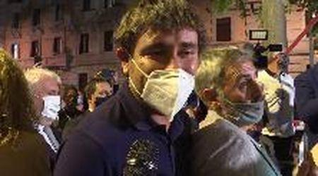 """Bari, Di Battista: """"Tornare il Parlamento? Decideranno gli italiani"""""""