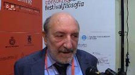 """Umberto Galimberti a Festival Filosofia: """"L'uomo pastore di macchine"""""""