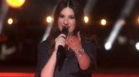 Laura Pausini al Colosseo canta per Mika e 'I love Beirut'