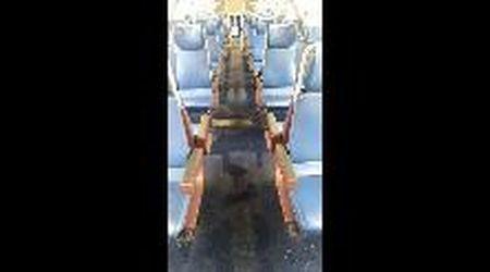 Maltempo, vagone allagato sul treno per Mortara