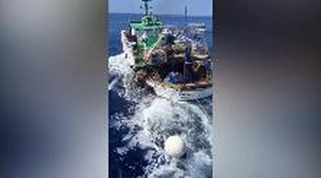 Lampedusa, peschereccio tunisino non si ferma all'alt: Guardia di finanza apre il fuoco