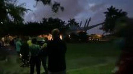 Elezioni Usa, voto anticipato in Florida: i cittadini di Parkland in fila all'alba sotto la pioggia