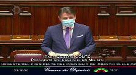 """Coronavirus, Conte alla Camera: """"Pronti a intervenire di nuovo se necessario"""""""