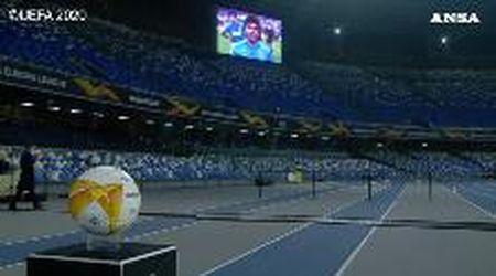 """Morto Maradona, l'omaggio dello speaker del San Paolo di Napoli: """"Questa è la tua casa"""""""