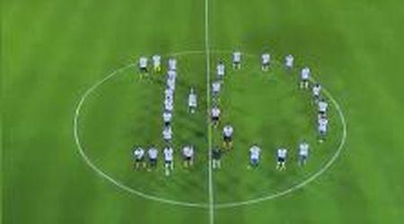 Argentina, l'emozionante omaggio a Maradona prima di Rosario Central-River Plate