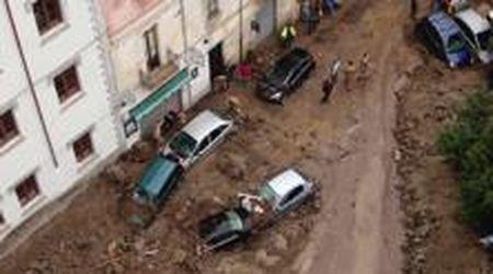 Maltempo in Sardegna, alluvione a Bitti: la devastazione nelle immagini riprese dal drone