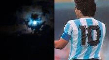 Argentina, a molti le nuvole in cielo ricordano Maradona: il video diventa virale