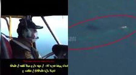 Golfo Persico: il sottomarino nucleare Usa mandato da Trump insidiato da un elicottero iraniano