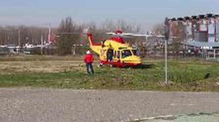 Ottobiano, incidente al motodromo: tre feriti