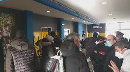 Polizia e carabinieri nella palestra GimFive: nuova multa a Livorno